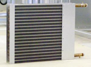 The installations airprocessing: heat exchanger