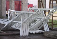 Металлоконструкции для строительства торговых