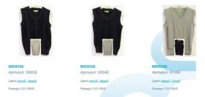 TM Many & Many vest. We implement