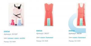 Платье для девочек ТМ Deloras. Реализуем