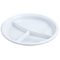 Plate disposable Inpak of 205 mm 50 pieces of the