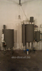 The biodiesel equipment with the production