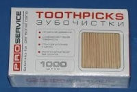 Toothpick of 1000 pieces in cellophane (the Code: