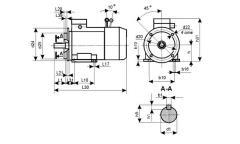 Электродвигатели со встроенным электромагнитн