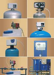 Фильтры промышленные химические для умягчения воды