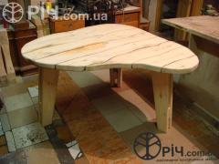 Natural tree table