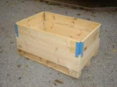 Pallets box wooden wholesale and retail from the