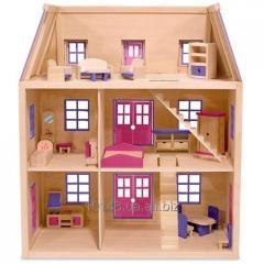 Домик для кукол, детские игрушки, игрушки, купить