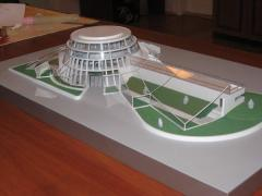 Production of architectural models, technical