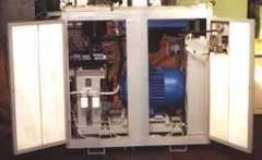 Screw compressor stations VVU - 10/7 and VVU -15/7