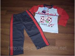 Children's pajamas for boys of Rolly Poly of