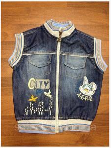 Детская одежда оптом Жилетка для мальчиков оптом