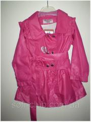 Jackets raincoats for girls wholesale of river of