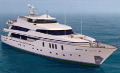 Моторная Мега-Яхта«ОБЬ 47», длина 47 метров,