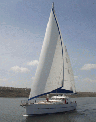 Яхта парусно-моторная, проект 09127