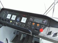 Кабина управления трамвайного вагона типа К-1М8