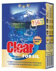 Пробник стирального порошка Forsil clear alpine -