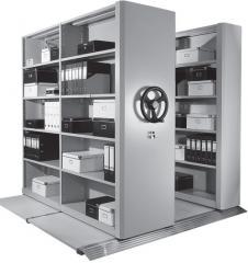Mobile archive (Perekatny racks)