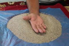 Пісок із дна Азовського моря грубозернистий