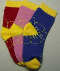 Socks are children's, terry winter from the