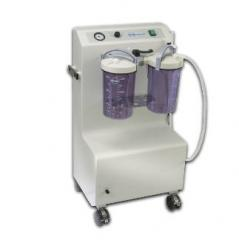 Mobile surgical high-performance aspirator of
