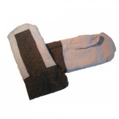 Вачеги (рабочие рукавицы) оптом. Возможно...