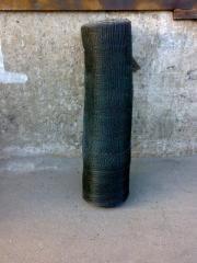 Grid woven for a concrete 10х10х1 cut-off black of