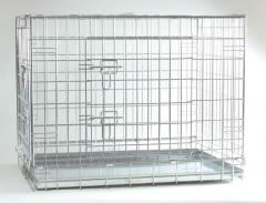 Сетка для клеток сварная оцинк 12х12, 25х12, 25х25, 25х50, 50х50 из проволоки 0,7-2,0мм - для штуктурных работ, под облицовку плиткой, рваным камнем, гранитом, для изготовления ограждений, клеток, перегородок, монтажа стендов, торговых мест.