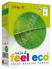 Organic laundry detergent for color Feel eco color