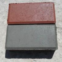 """Плитка """"Кирпич"""" серый, красный  216х108х60"""