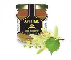 White honey - honey natural, lime