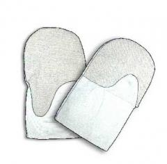 Mittens are oilproof, petrol-resistant (MBS) - to