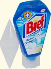 Detergent Bref of 750 ml for toilet with bleach