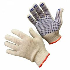 Gloves economic in assortment. Knitted, shity,