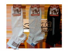 Мужские носки сетка, упаковками по 12 пар