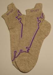 Socks a female platirovka, sports women's
