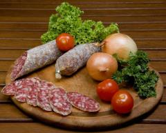 Колбаса сыровяленая салями Мардоулон
