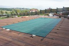 Namioty zimowe dla basenów konserwacji