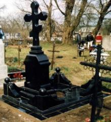 Crosses made of granite