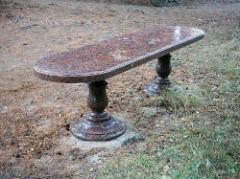 Столы,лавочки из природного камня