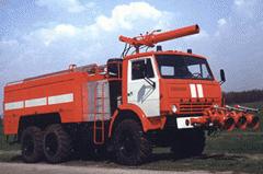 Автомобиль аэродромный пожарный АА-40(43105)