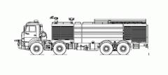 Автомобиль пожарный аэродромный АА-60(6350)-286