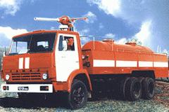 Автомобиль порошкового тушения АП-5(53213) модель