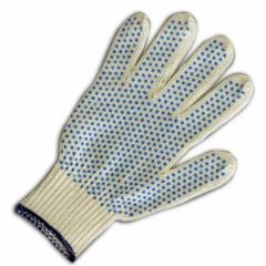 Перчатки вязаные рабочие, средства индивидуальной