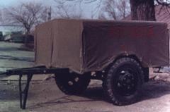 Прицеп пожарный тушения С02 модель ОУ-400А