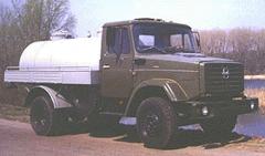 Автомобиль цистерна для воды АЦПТ-5 предназначена