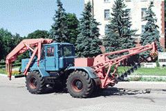 Машина бурильно-подъемная МБП-420(Т-150К) модель