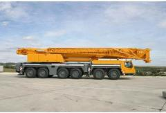 Six-axis Liebherr LTM 1250-6.1 self-propelled