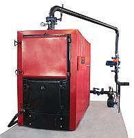 Boiler room on a platform