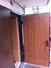 Entrance doors production Donetsk.